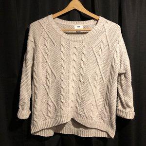 Petite s Old Navy cozy sweater